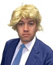Funny Boris Johnson Fancy Dress Blonde Wig